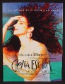 Magazine Ad For Gloria Estefan Into The Light Tour, Bacardi Breezer, Music, Alcohol, 1991