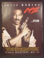 Magazine Ad For Movie, Beverley Hills Cop III, Eddie Murphy, It's On, Poster, 1994