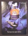 Magazine Ad For Crown Royal Whiskey, Genie Lamp, You Have Two More Wishes, 1994