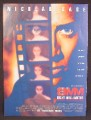 Magazine Ad For 8MM Eight Millimeter Movie, Nicolas Cage, Joaquin Phoenix, 1999