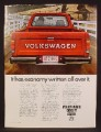 Magazine Ad For VW Volkswagen Pickup Truck, Tail Gate, Has Economy Written All Over It, 1980