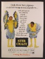 Magazine Ad For Stir Crazy Movie, Gene Wilder, Richard Pryor, Comedy, Poster, 1980, 8 1/8 by 10 7/8