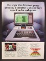 Magazine Ad For Magnavox Odyssey 2 Computer Video Game Console, Special Keyboard, 1980