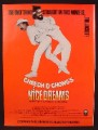 Magazine Ad For Cheech & Chong's Nice Dreams Movie, Cheech Marin, Thomas Chong, 1981