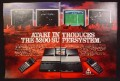 Magazine Ad For Atari 5200 Supersystem Game System, Controllers, 4 Screen Shots, 1983