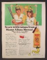Magazine Ad For Monte Alban Mezcal Alcohol, Worm Hat, Baseball Jerseys, Cooler Offer, 1983