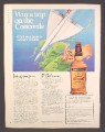 Magazine Ad For House Of Stuart Scotch Whiskey, Win A Trip On The Concorde Contest, 1983