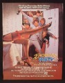 Magazine Ad For Bachelor Party Movie, Tom Hanks, Tawny Kitaen, Adrian Zmed, Poster, 1984