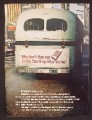 Magazine Ad For Lark Cigarettes, Smoky Stinky Bus, Put Gas Trap Filter On Me, 1970
