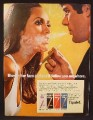 Magazine Ad For Tipalet Cigars, Blow In Her Face And She'll Follow You Anywhere, 1970