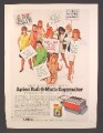 Magazine Ad For Apeco Roll O Matic Copymaker, Copier, Pretty Secretaries with Demands, 1970