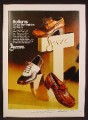 Magazine Ad For Jarman Bottoms Men's Shoes, 3 Styles, Disco, Where The Fashion Is, 1973