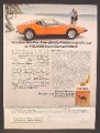 Magazine Ad For Camel Cigarettes, Pantera Sports Car Contest Sweepstakes, 1973