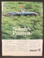 Magazine Ad For Jaguar E Type V-12 Convertible Sports Car, E-Type, V12, V 12, 1974