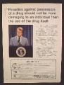 Magazine Ad For NORML, President Jimmy Carter, Penalties Against Possession Of A Drug, 1979