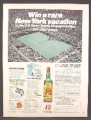 Magazine Ad For J&B Scotch New York U.S. Open Tennis Championships Contest, 1979