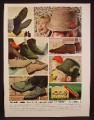 Magazine Ad For Hush Puppies Shoes and Hats For Men, 1964, 8 3/8 by 11