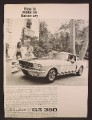 Magazine Ad For Shelby Cobra G.T. 350 Car, How To make An Italian Cry, GT 350, 1964