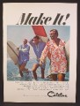 Magazine Ad For Catalina Beachwear For Men, Surfer Mike Doyle, Ken Adler, Robert August, 1966