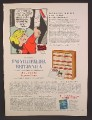 Magazine Ad For Encyclopedia Britannica, Dennis The Menace Cartoon, 1967, 8 1/4 by 11