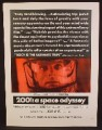 Magazine Ad For 2001 A Space Odyssey Movie, Stanley Kubrick, Keir Dullea, Gary Lockwood, 1968