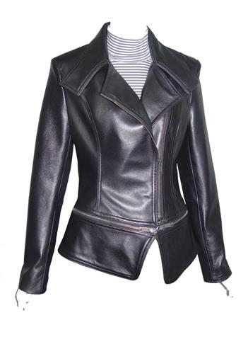 Women Big Amp All Size 4092 Cute Biker Jackets Leather