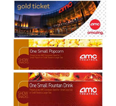 AMC Silver Experience Movie Tickets