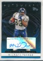 2006 TOPPS MICHAEL TURNER AUTOGRAPH CARD #T-MT