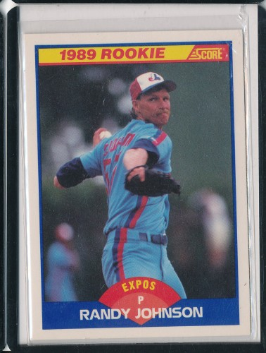 1989 Score Randy Johnson Rookie Card 645