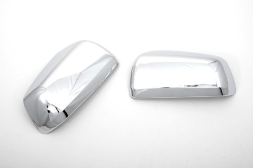 Chrome Side Mirror Cover - Mitsubishi Lancer 07 Up  Evolution X.jpeg