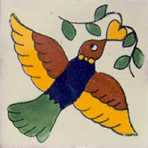 Mexican Tile bird2