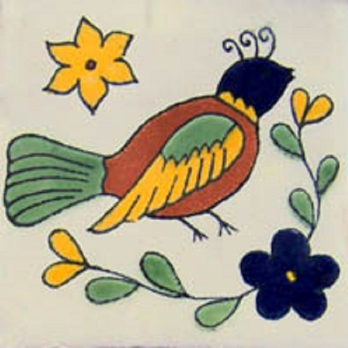 Mexican Tile bird1