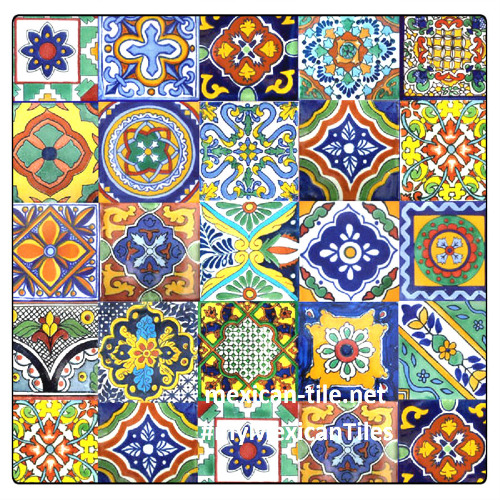mexican ceramic tiles for decorating home interiors