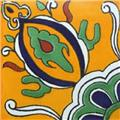 mexican hand painted tile coahuila