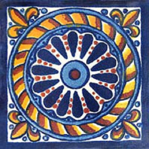 mexican ceramic tile cuerda