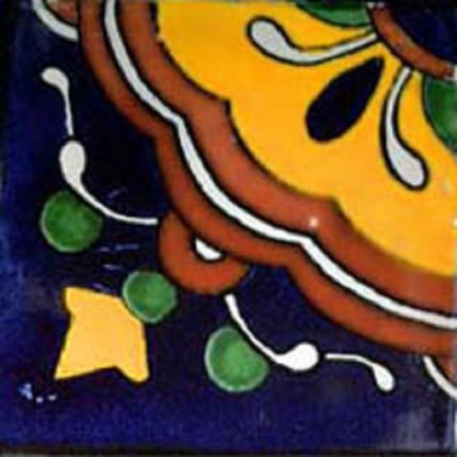 Mexican tile style design cupula