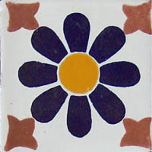 Mexican tile pattern Chetumal