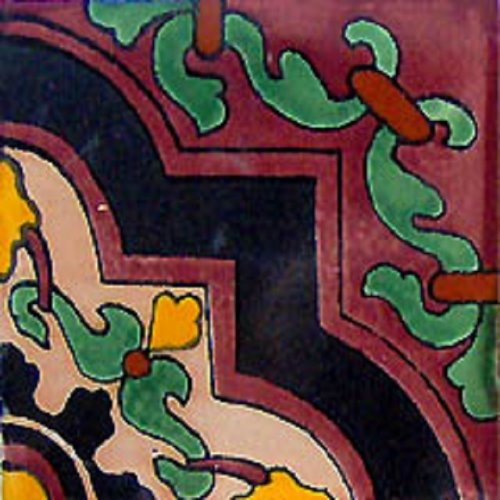 mexican vivid color tile