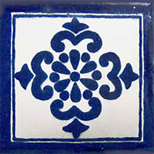 mexican hand painted talavera tile