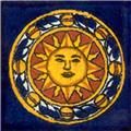 Mexican Tile Sol Azteca