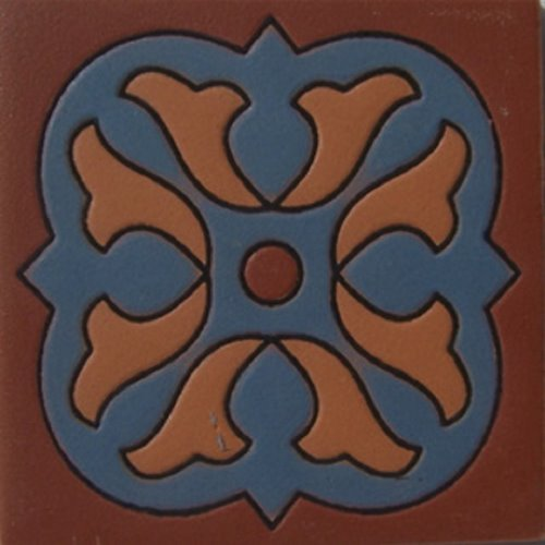 Artisan Produced Relief Tile Alejandra