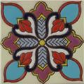 Artisan Produced Relief Tile Jazmin