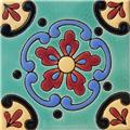 Handcrafted Relief Tile Cineraria
