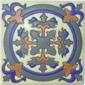 Handmade Relief Tile Angeles