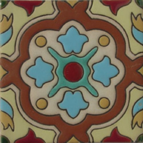 Handcrafted Relief Tile Nataly