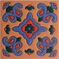 Handcrafted Relief Tile Ivonne