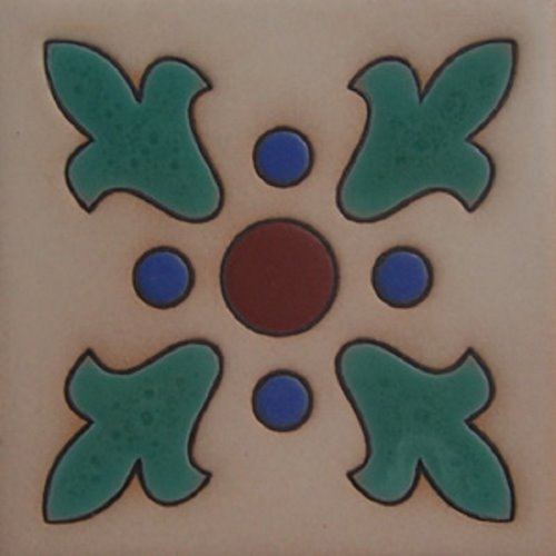 Artisan Produced Relief Tile Karyme