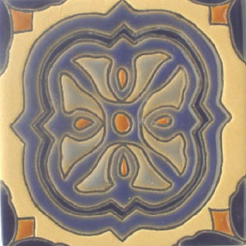 Handcrafted Relief Tile Viviana