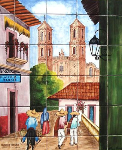 Kitchen Tile Mural Quot Taxco Quot Mexican Tiles 169 Kitchen Bath