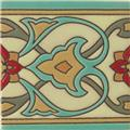 handcrafted relief tiles Eugenio